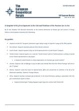 EGF Gazprom Monitor, Issue 44, January 2015