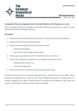 EGF Gazprom Monitor, Issue 43, December 2014