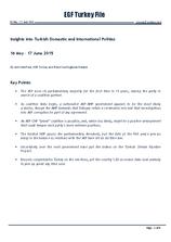 EGF Turkey File, Mid May — Mid June 2015