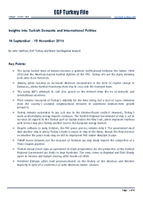 EGF Turkey File, 16 September — 15 November 2014
