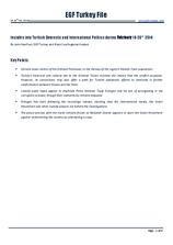 EGF Turkey File, 18 February — 28 February 2014