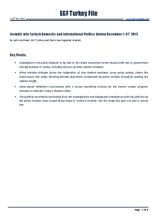 EGF Turkey File, December 2013