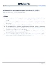 EGF Turkey File, 16 July — 31 July 2013