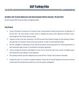 EGF Turkey File, 1 July — 15 July 2013