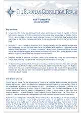 EGF Turkey File, December 2010
