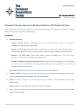 EGF Gazprom Monitor, Issue 59, April 2016