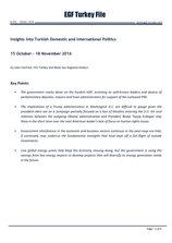 EGF Turkey File, October 15 — November 18, 2016