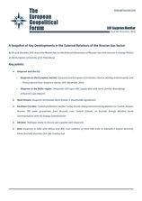 EGF Gazprom Monitor, Issue 66, November 2016