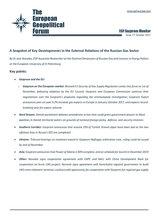 EGF Gazprom Monitor, Issue 77, October 2017