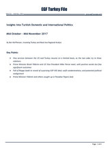 EGF Turkey File, October — November, 2017