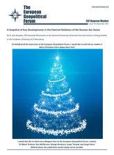 EGF Gazprom Monitor, Issue 79, December 2017