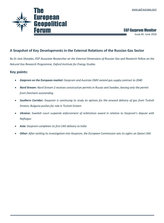 EGF Gazprom Monitor, Issue 85, June 2018