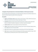 EGF Gazprom Monitor, Issue 86, July 2018