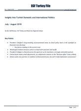 EGF Turkey File, July — August, 2018