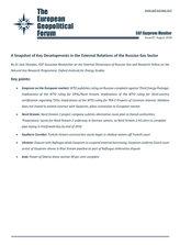 EGF Gazprom Monitor, Issue 87, August 2018