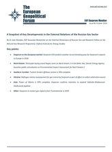 EGF Gazprom Monitor, Issue 89, October 2018