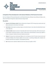 EGF Gazprom Monitor, Issue 96, May 2019