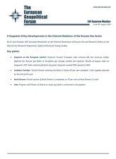 EGF Gazprom Monitor, Issue 99, August 2019