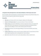 EGF Gazprom Monitor, Issue 100, September 2019