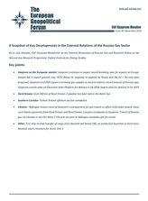 EGF Gazprom Monitor, Issue 90, November 2018
