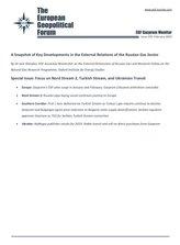 EGF Gazprom Monitor, Issue 105, February 2020