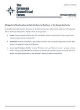 EGF Gazprom Monitor, Issue 110, July 2020