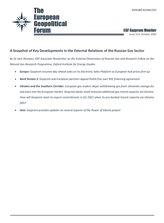 EGF Gazprom Monitor, Issue 113, October 2020