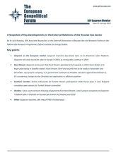 EGF Gazprom Monitor, Issue 92, January 2019