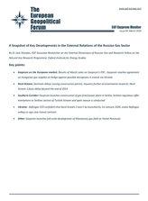 EGF Gazprom Monitor, Issue 94, March 2019